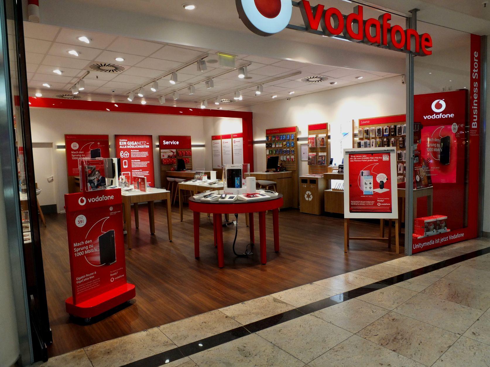 Vodafone Shop im City-Point Kassel