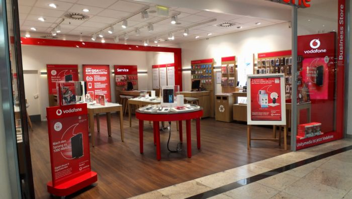 Vodafone Shop im City-Point Kassel