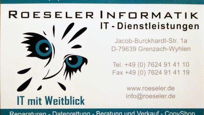 Roeseler Informatik Inh. Matthias Döbele