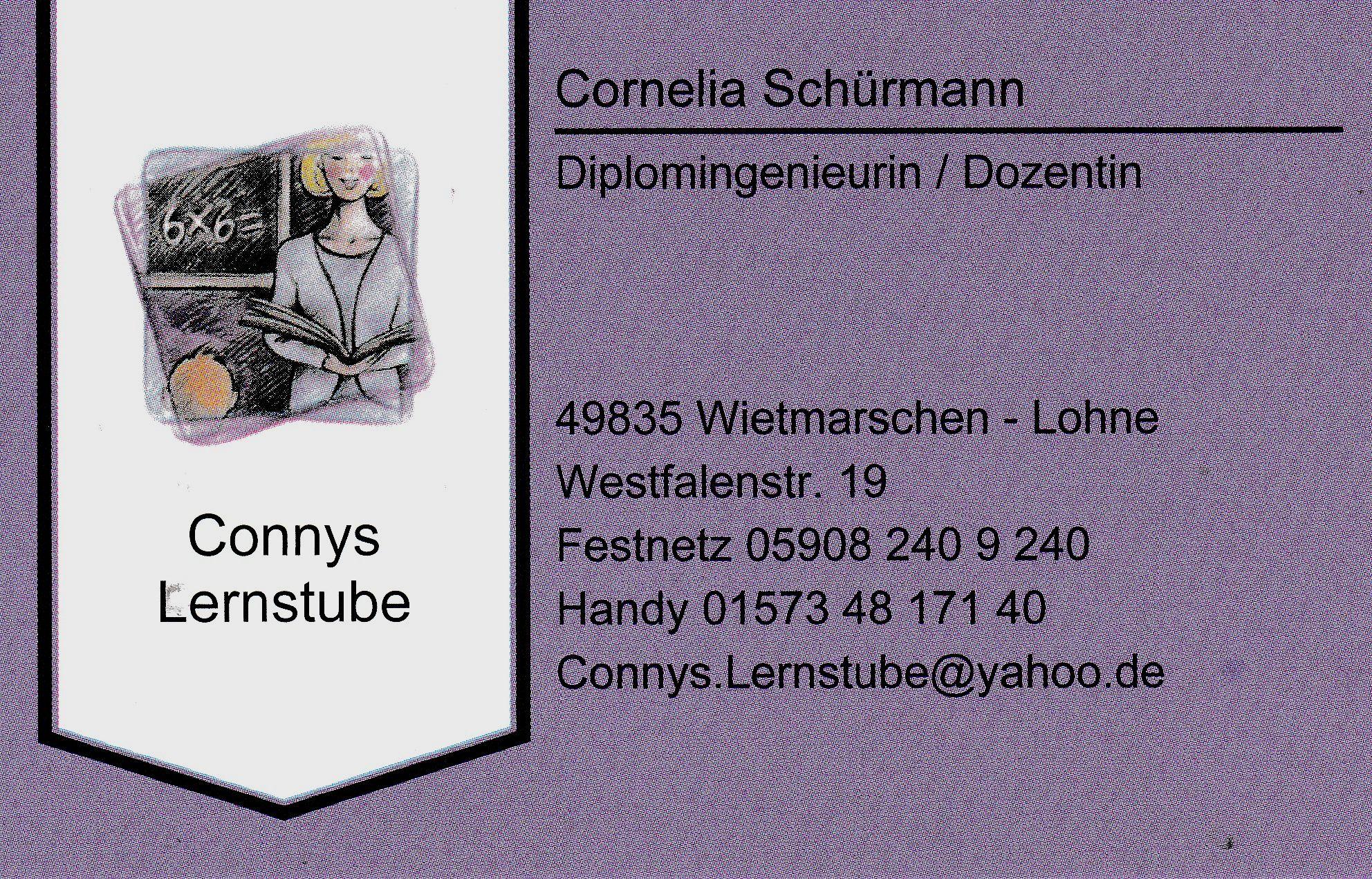 Connys Lernstube