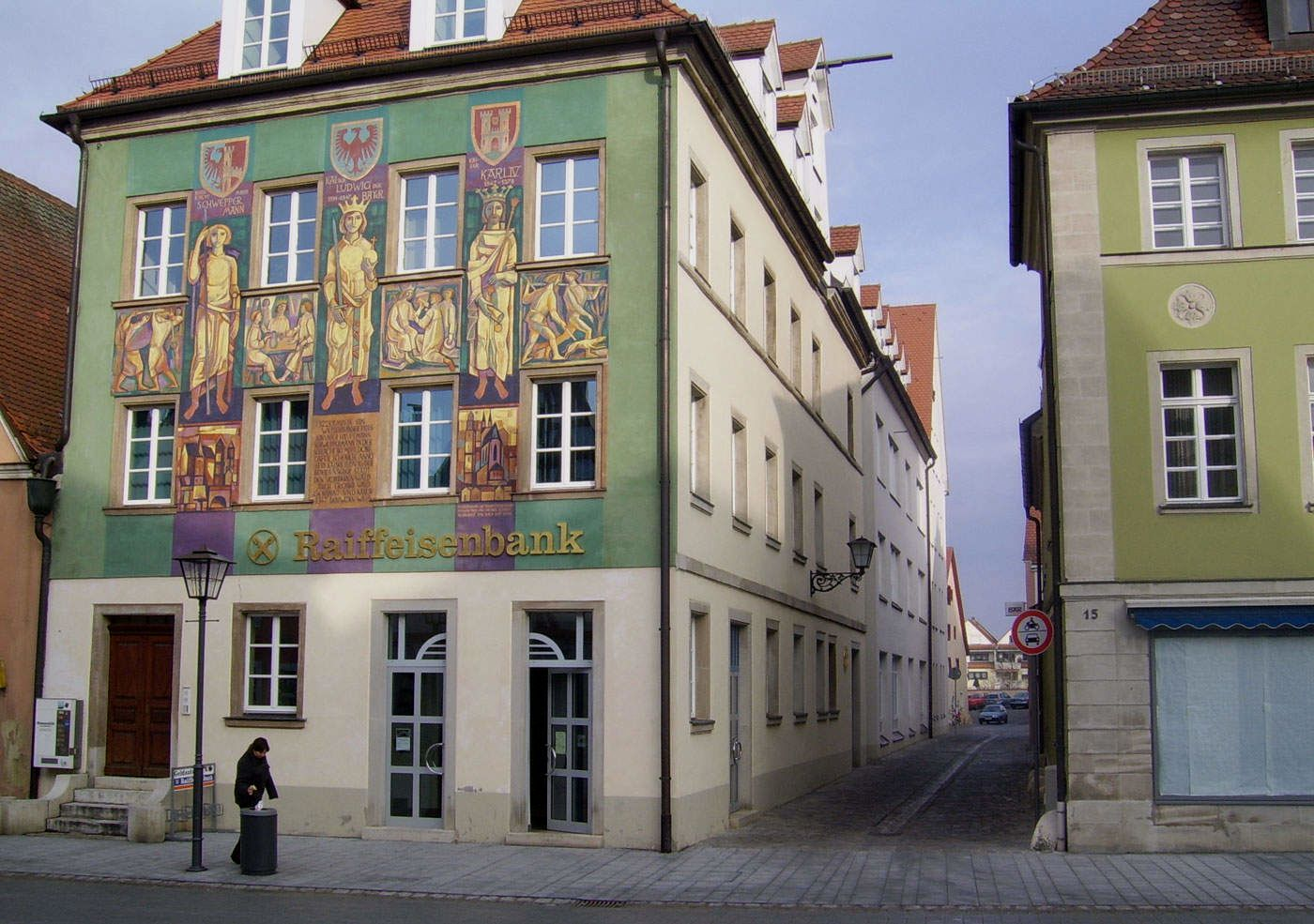 Raiffeisenbank Weißenburg-Gunzenhausen, Hauptgeschäftsstelle Weißenburg