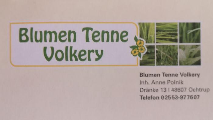 Blumen Tenne Volkery