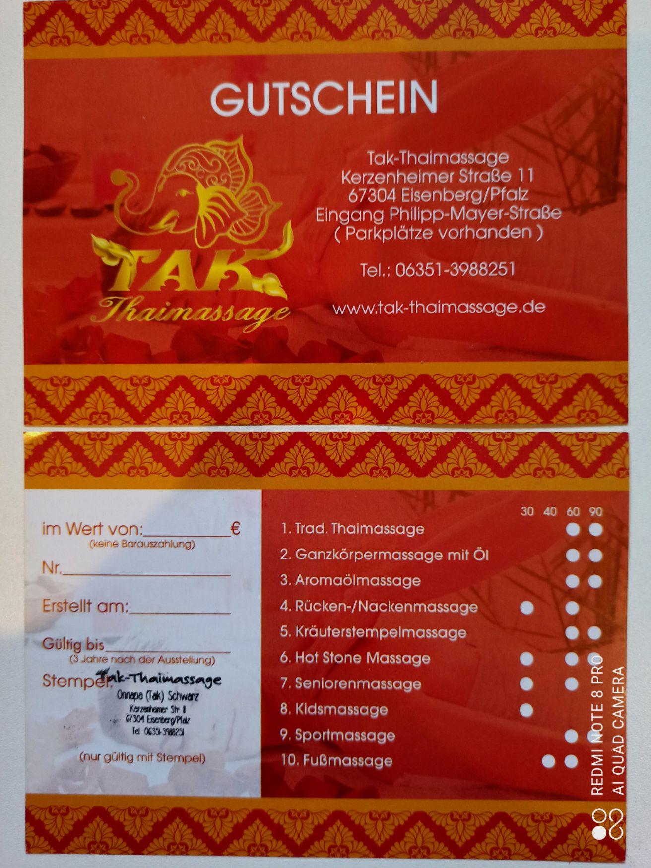 Tak-Thaimassage