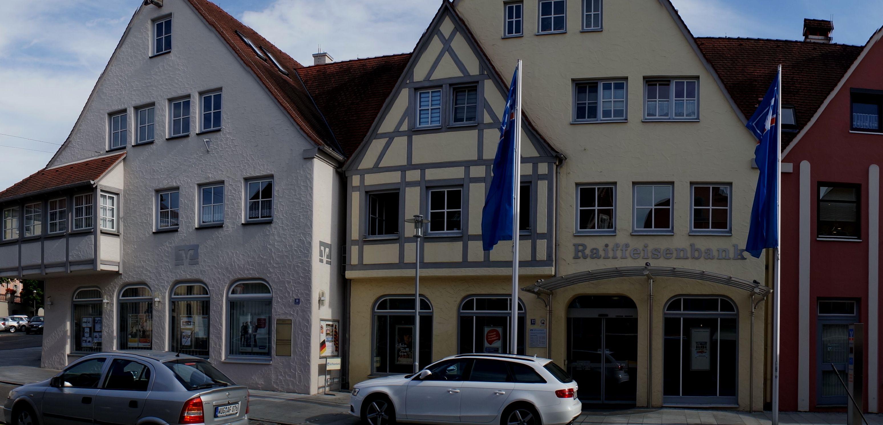 Raiffeisenbank Weißenburg-Gunzenhausen, Hauptgeschäftsstelle Gunzenhausen