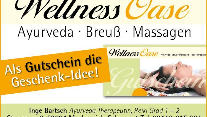 Wellness-Oase, Inge Bartsch, Ayurveda Therapeutin