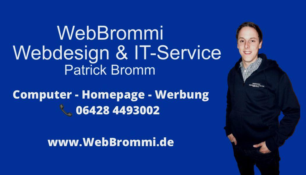 WebBrommi - Webdesign & IT-Service Patrick Bromm