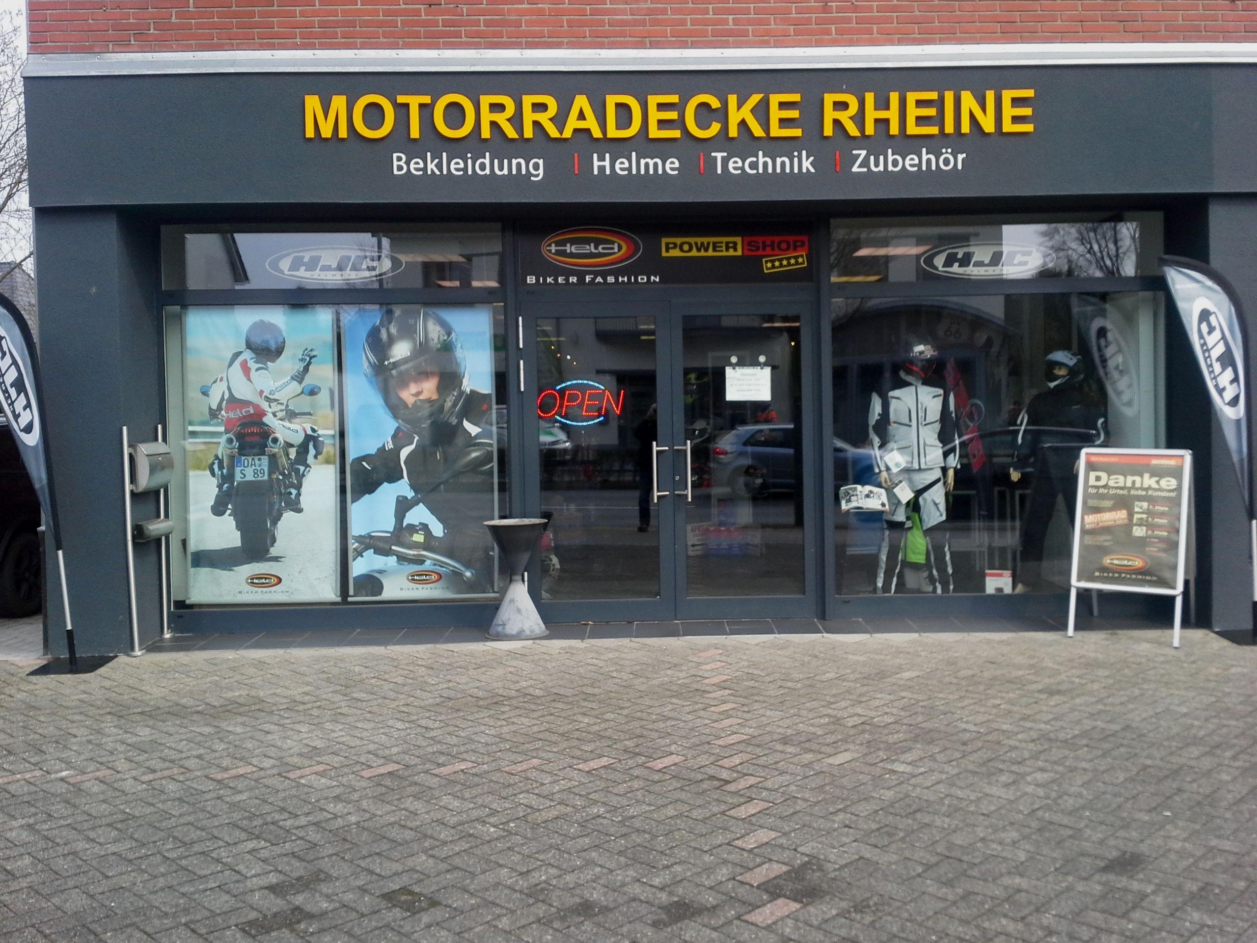 Motorrad Ecke Rheine