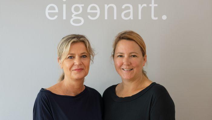 eigenart modedesign  Heike Heim + Bettina Wöllgens