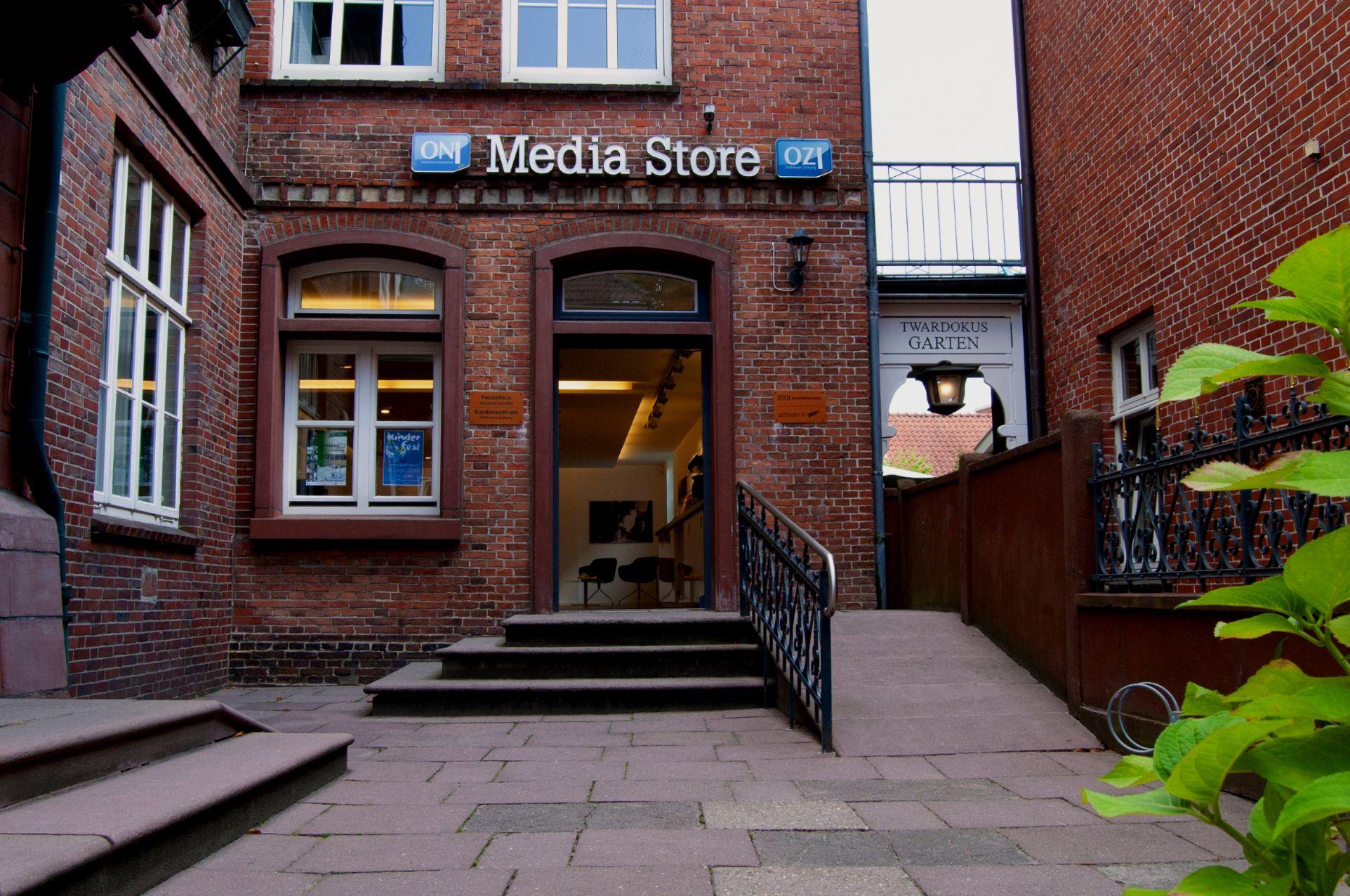 Media Store der Ostfriesen-Zeitung