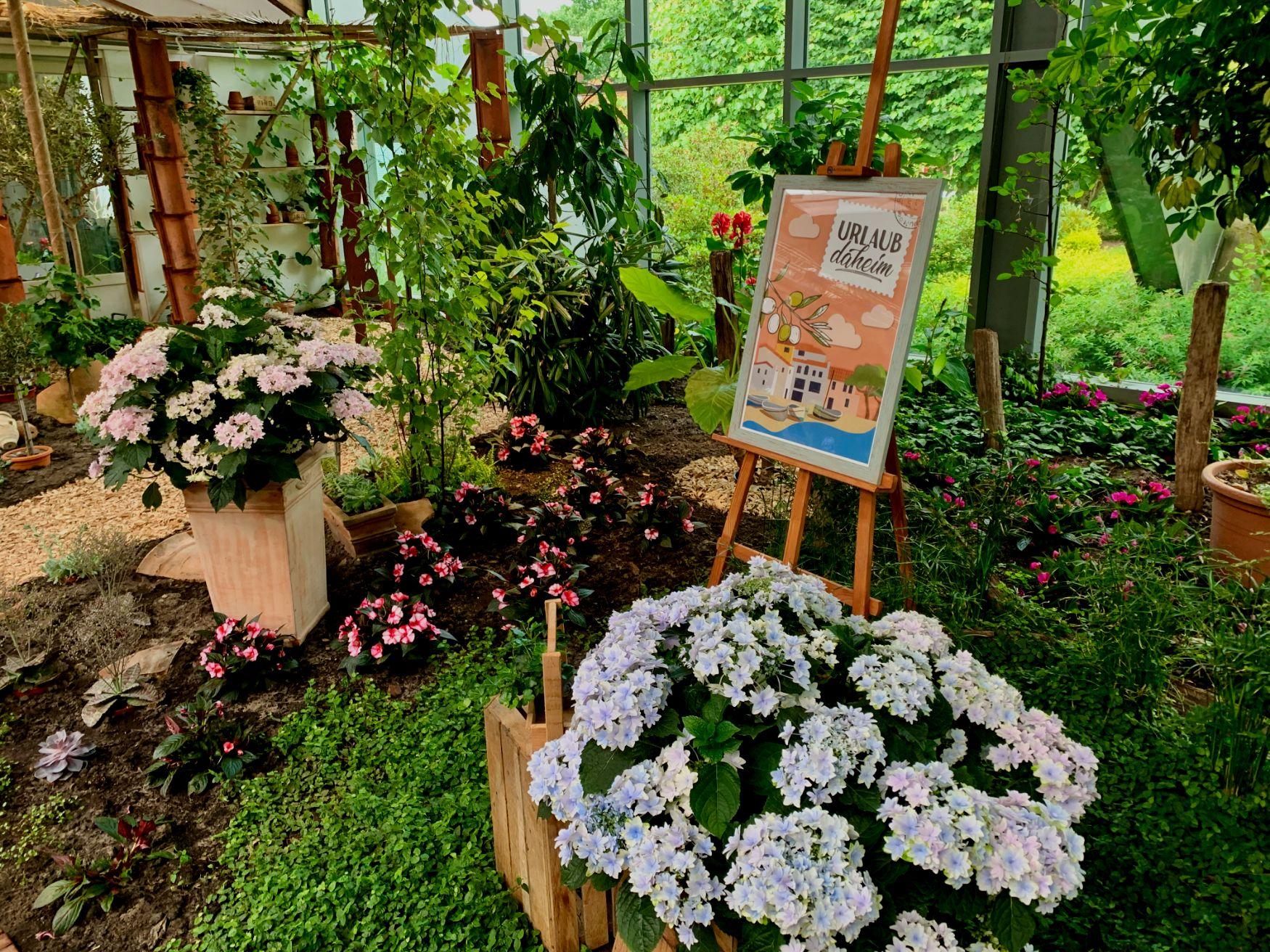 """""""Blumenreich"""" Blumenhalle & Gartenpark Wiesmoor"""