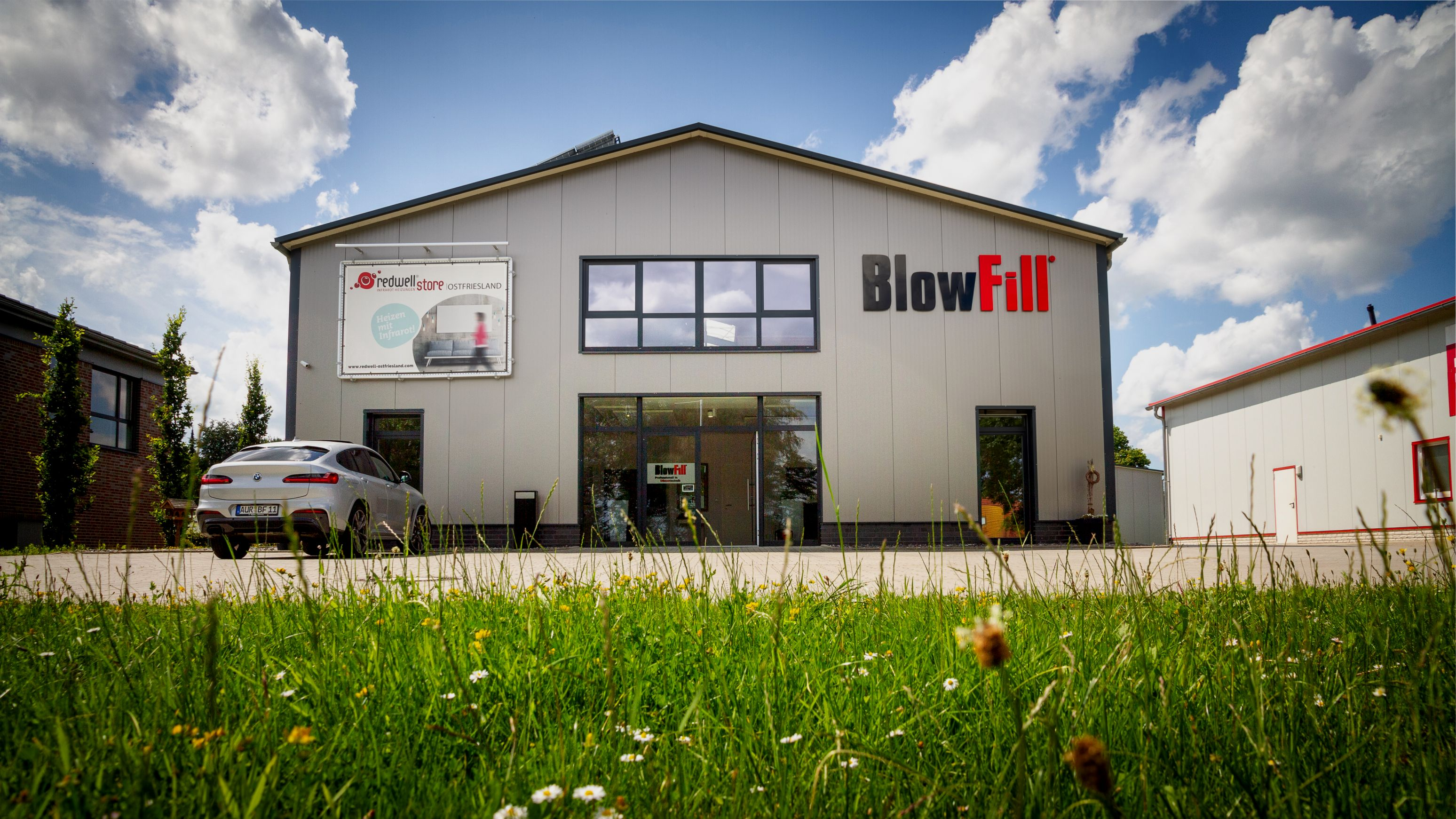 Blowfill