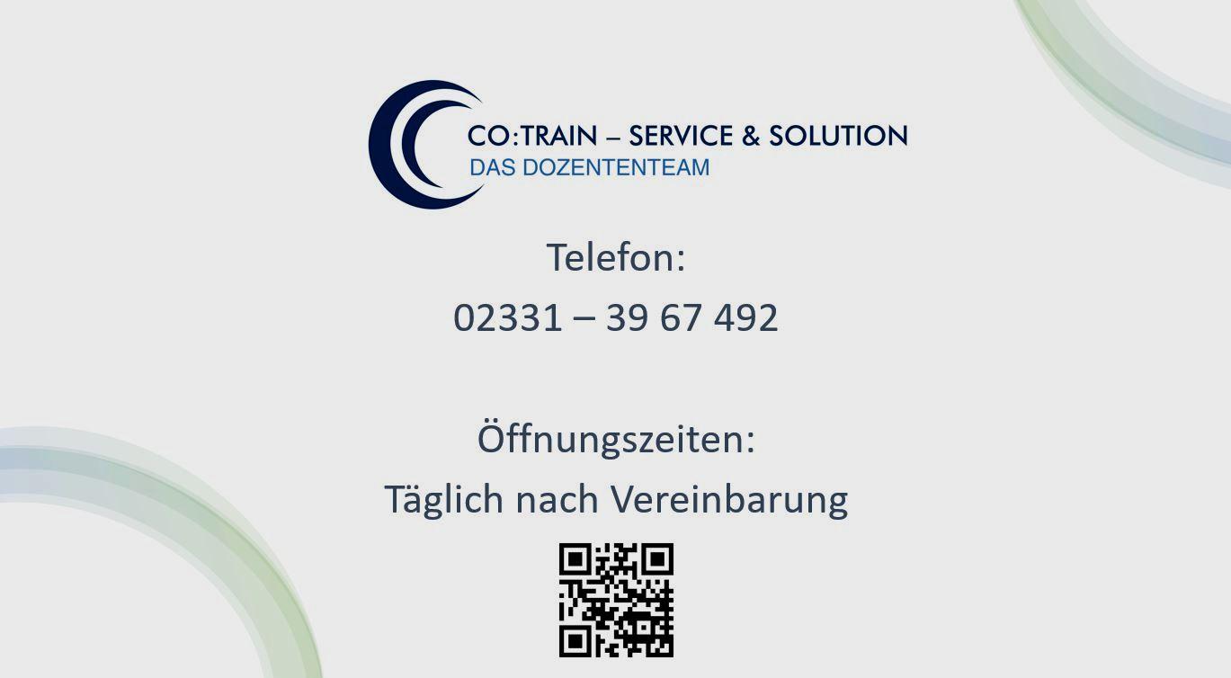 Co:Train - Service & Solution