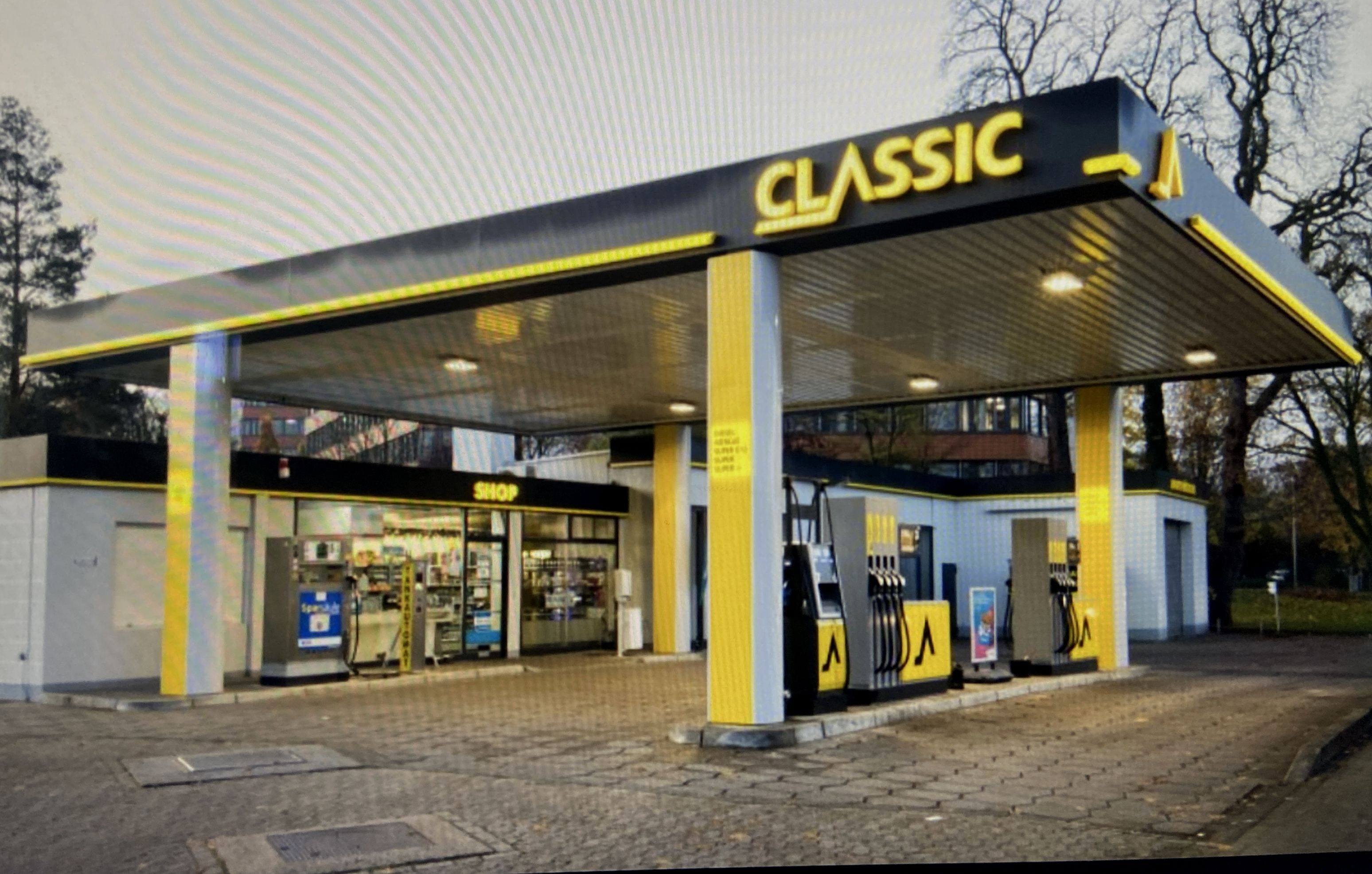 Classic Tankstelle