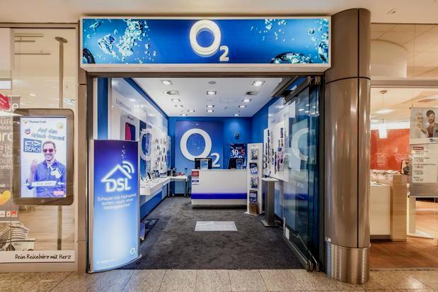 o2 Shop im Luisencenter 1. OG