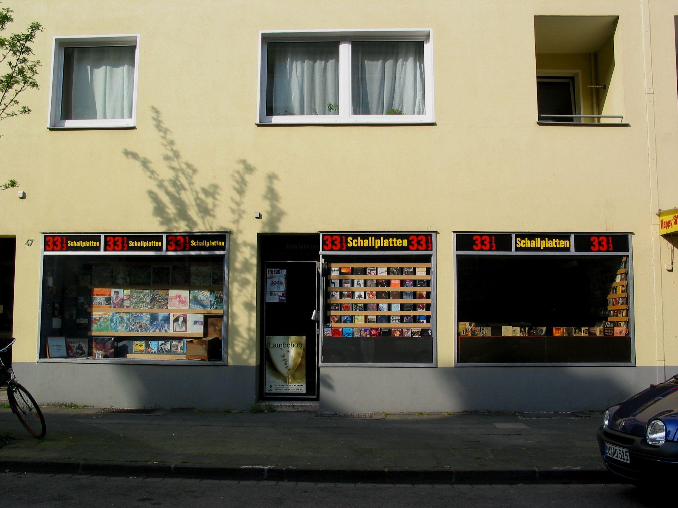 33 1/3 Schallplatten