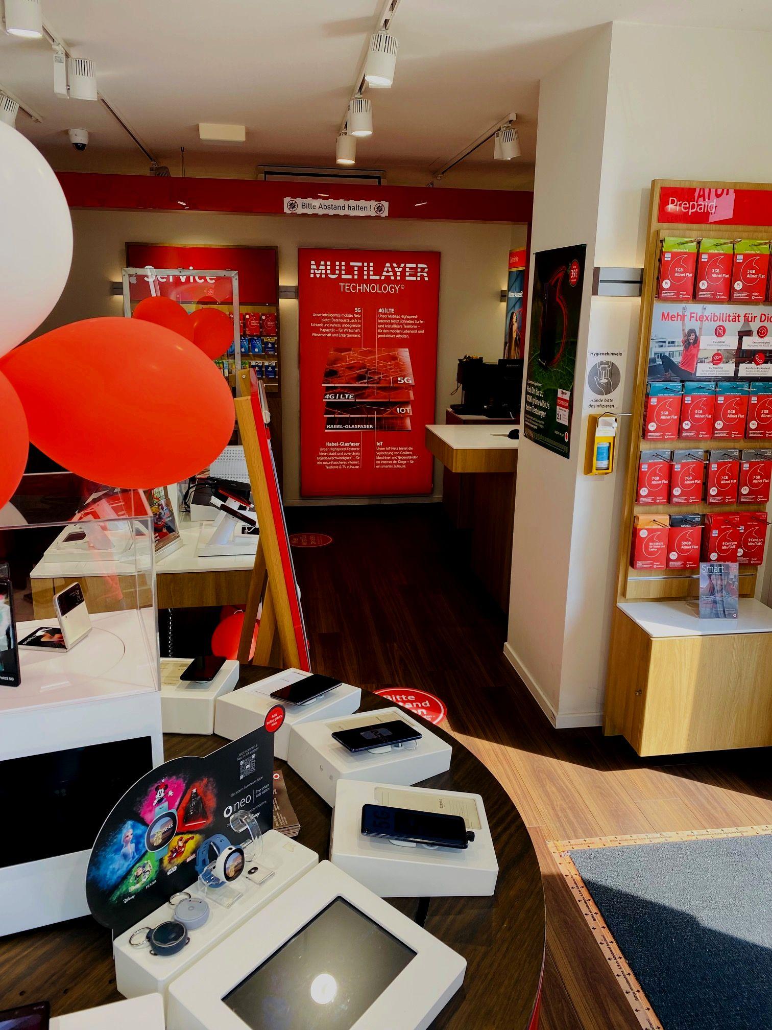 Vodafone Business Premium Store Fischeln